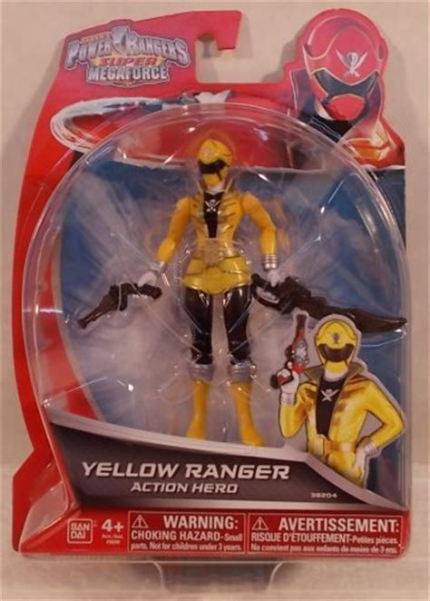 """""""OUT OF STOCK"""" Power Rangers Super Megaforce 5"""" Action"""