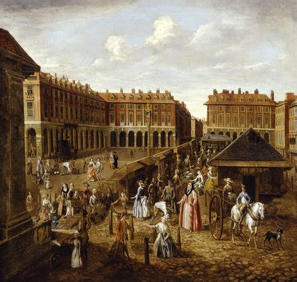 Covent Garden Piazza and Market: 18th century by Joseph