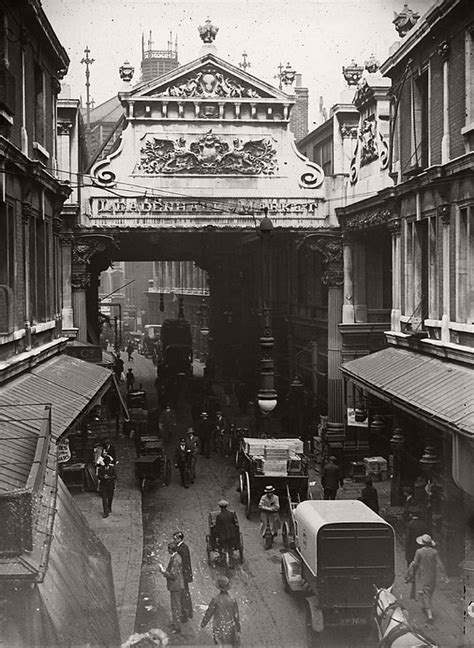 Vintage: Edwardian Markets in the 1900s   MONOVISIONS