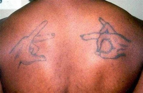 11 Common Gang Tattoos You've Probably Seen Without