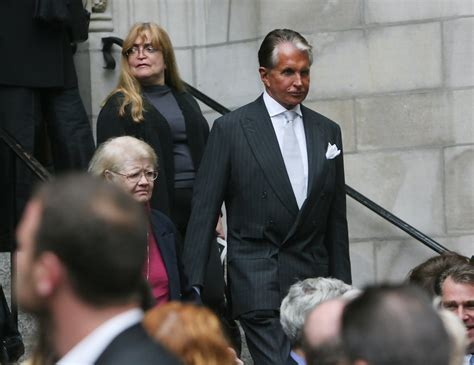 George Hamilton in Mourners Attend Dominick Dunne's
