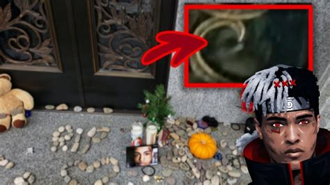 Xxxtentacion GHOST Caught on film at Cemetery? - YouTube